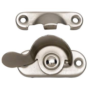 Designers Impressions Satin Nickel Window Lock: 53713