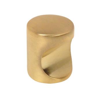 Cosmas 3312BB Brushed Brass Cabinet Knob