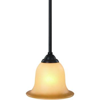 Oil Rubbed Bronze Mini-Pendant Light Fixture : 16-4252