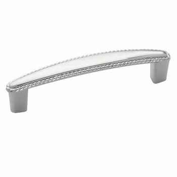Amerock BP53004-26 Allison Polished Chrome Rope Cabinet Pull