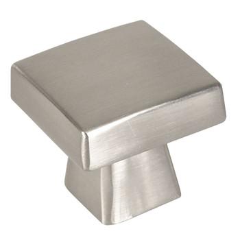 Cosmas 5233SN Satin Nickel Square Contemporary Cabinet Knob