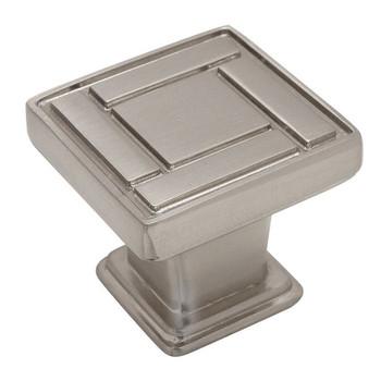 Cosmas 7155SN Satin Nickel Cabinet Knob