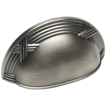 Cosmas 9461AS Antique Silver Cabinet Cup Pull