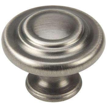 Cosmas 9971AS Antique Silver 3 Ring Cabinet Knob