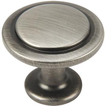Cosmas 5560AS Antique Silver Cabinet Knob