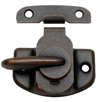 Designers Impressions Oil Rubbed Bronze Cam Action Window Sash Lock and Keeper: 53744