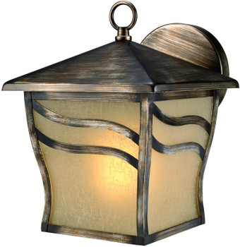 Parisian Bronze Outdoor Patio / Porch Exterior Light Fixture : 10-3114