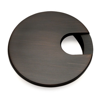"Cosmas 50203ORB Oil Rubbed Bronze Desk Grommet - 3"" Overall Diameter"