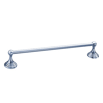 "Designers Impressions Stockton Series Chrome 24"" Towel Bar"