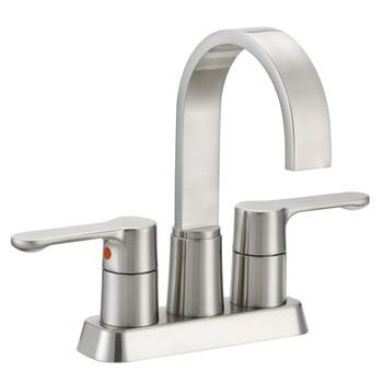 Designers Impressions 615649 Satin Nickel Lavatory Vanity Faucet
