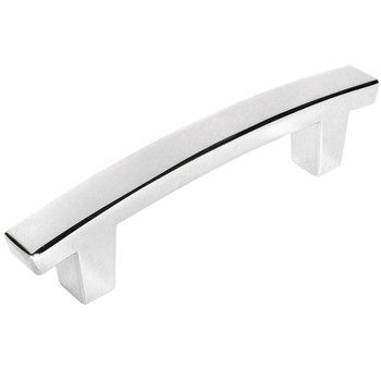 Cosmas 5235CH Polished Chrome Contemporary Arch Cabinet Pull