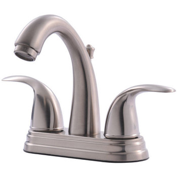 Crystal Cove 13-4897 Satin Nickel Lavatory Vanity Faucet