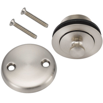 Designers Impressions 615601 Satin Nickel Lift and Turn Drain Trim
