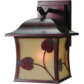 Royal Bronze Outdoor Patio / Porch Exterior Light Fixture : 10-3459
