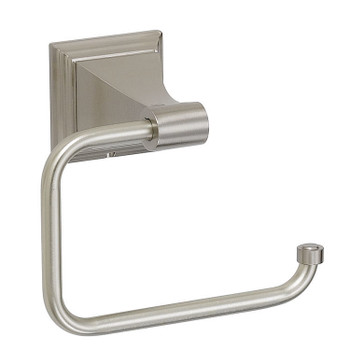 Designers Impressions 400 Series Satin Nickel Euro Style Toilet / Tissue Paper Holder: BA406
