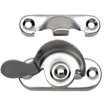 Designers Impressions Polished Chrome Window Lock: 53737