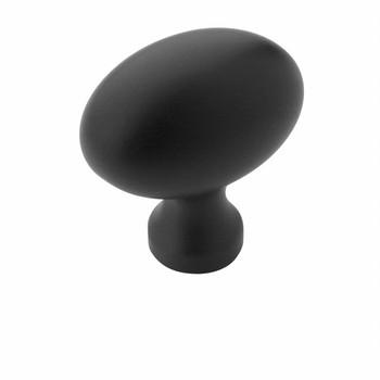 Amerock BP53014-FB Allison Flat Black Oblong Cabinet Knob