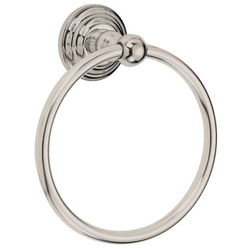 Designers Impressions 700 Series Satin Nickel Towel Ring: BA704