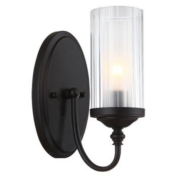 Lexington Oil Rubbed Bronze 1 Light Wall Sconce / Bathroom Fixture: 20-8642