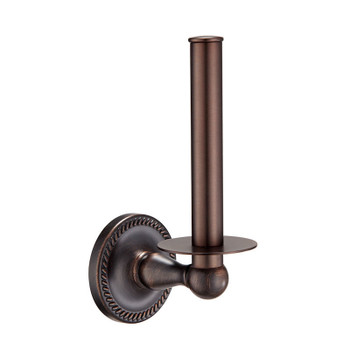 Designers Impressions Naples Series Oil Rubbed Bronze Vertical Toilet / Tissue Paper Holder: 18862