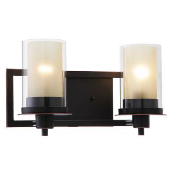 Juno Oil Rubbed Bronze 2 Light Wall Sconce / Bathroom Fixture: 73470