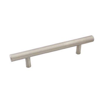 Cosmas 425-96-H-SS Stainless Steel Cabinet Hardware Euro Style Hollow Bar Pull