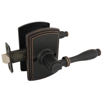Delaney Sorado Design Oil Rubbed Bronze Privacy Door Lever (Bed & Bath): 502T-SO-US10