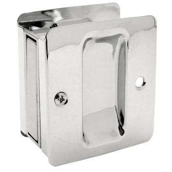 Designers Impressions Polished Chrome Pocket Door Passage : 53980