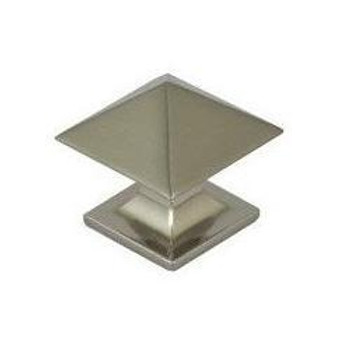 Pro Value Series SZEL1-3-SN Satin Nickel Square Zinc Cabinet Knob