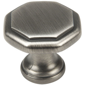 Cosmas 5181AS Antique Silver Cabinet Knob