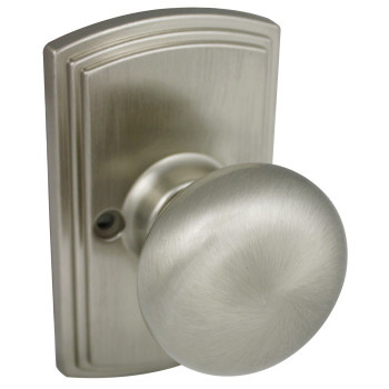Delaney Santo Design Satin Nickel Dummy Door Knob (Non-Functioning): 115-SN-US15