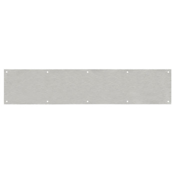 "Designers Impressions Stainless Steel 6"" x 34"" Kick Plate: 609445"