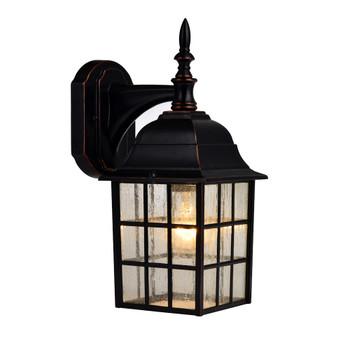 Designers Impressions Oil Rubbed Bronze Outdoor Patio / Porch Exterior Light Fixture : 73480