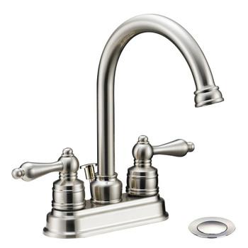 Designers Impressions 617430 Satin Nickel Lavatory Vanity Faucet