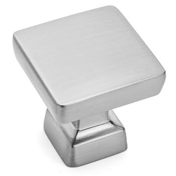 Cosmas 1480SN Satin Nickel Modern Contemporary Square Cabinet Knob