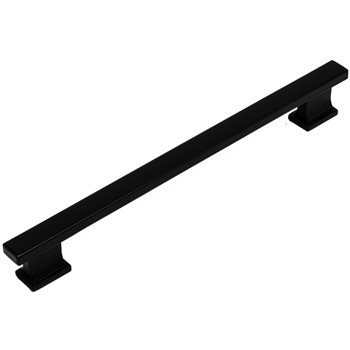 Cosmas 702-192FB Flat Black Contemporary Cabinet Pull