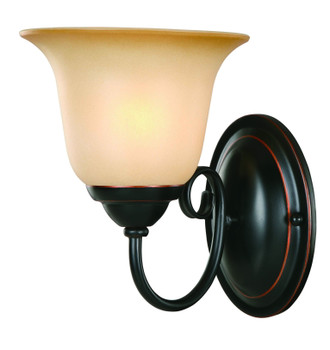 Oil Rubbed Bronze 1 Light Wall Sconce / Bathroom Fixture 16-3675