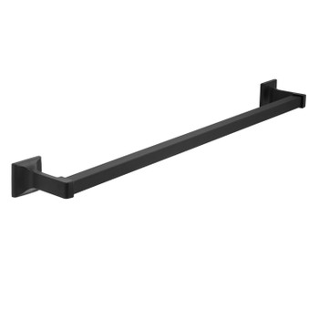 "Designers Impressions Eclipse Series Black 24"" Towel Bar: MBA2221"