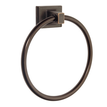 Designers Impressions Eclipse Series Oil Rubbed Bronze Towel Ring: MBA8224