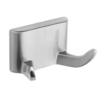 Designers Impressions Eclipse Series Satin Nickel Double Robe Hook: MBA6229
