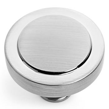 Cosmas 8101SN Satin Nickel Cabinet Knob