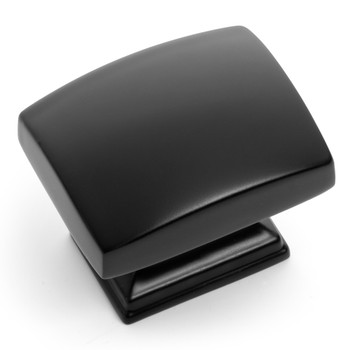 Cosmas 8105FB Flat Black Contemporary Cabinet Knob