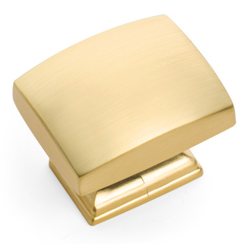 Cosmas 8105BG Brushed Gold Contemporary Cabinet Knob