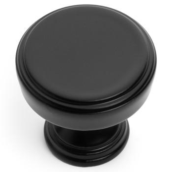 Cosmas 1940FB Flat Black Cabinet Knob