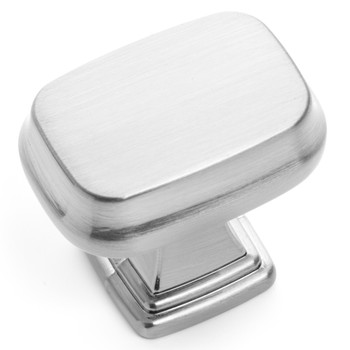 Cosmas 1488SN Satin Nickel Contemporary Cabinet Knob