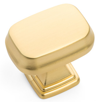 Cosmas 1488BG Brushed Gold Contemporary Cabinet Knob