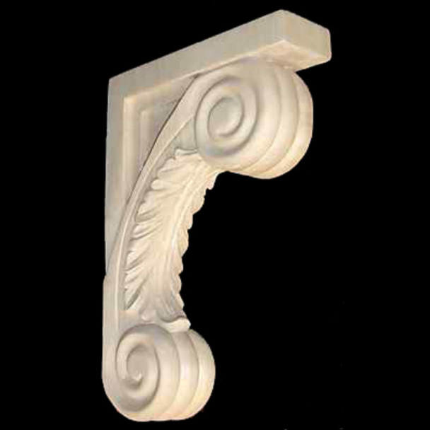 Wood Corbel Bar Bracket Support Solid Maple CVB-SCR-M
