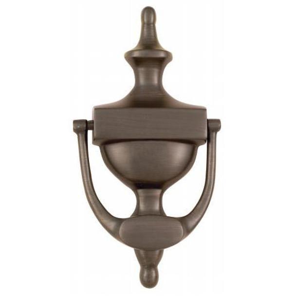 """Oil Rubbed Bronze 7"""" Door Knocker: 55-2174"""