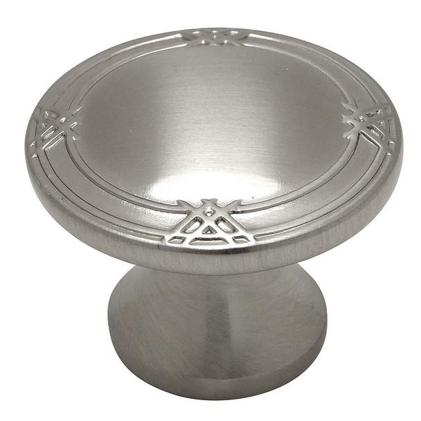 Cosmas 9462SN Satin Nickel Cabinet Knob