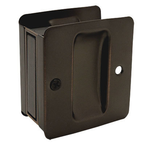 Designers Impressions Oil Rubbed Bronze Pocket Door Passage : 53881